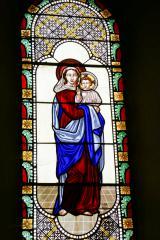 Vitrail La vierge à l'enfant