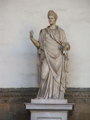 Statue de marbre - Palazzo vecchio - Florence