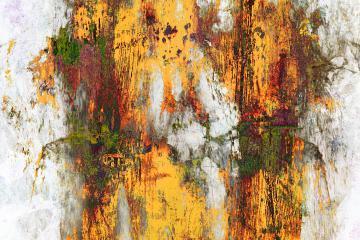 Texture - Métal rouillé et peinture écaillée