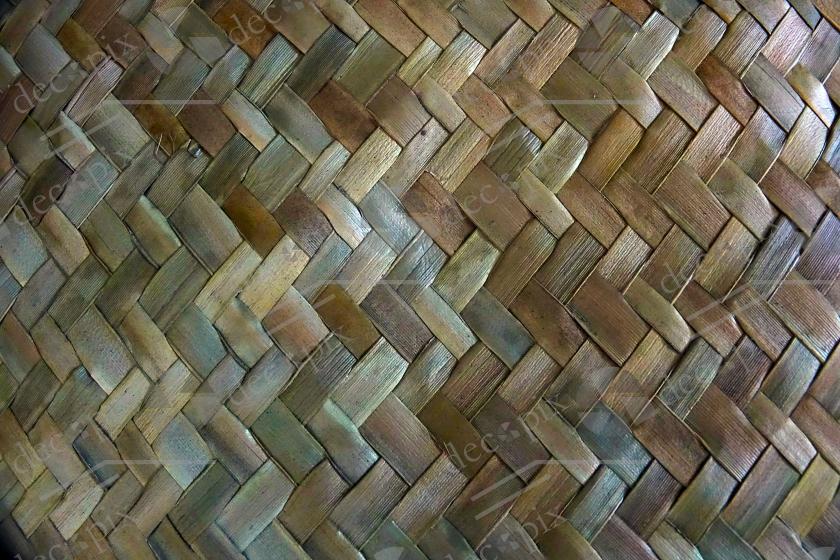 Set de table tressé en vacoa - Ile de la Réunion