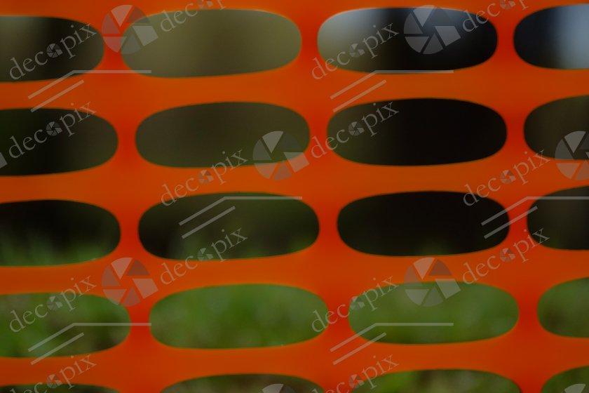 Arrière-plan - Grillage plastique orange