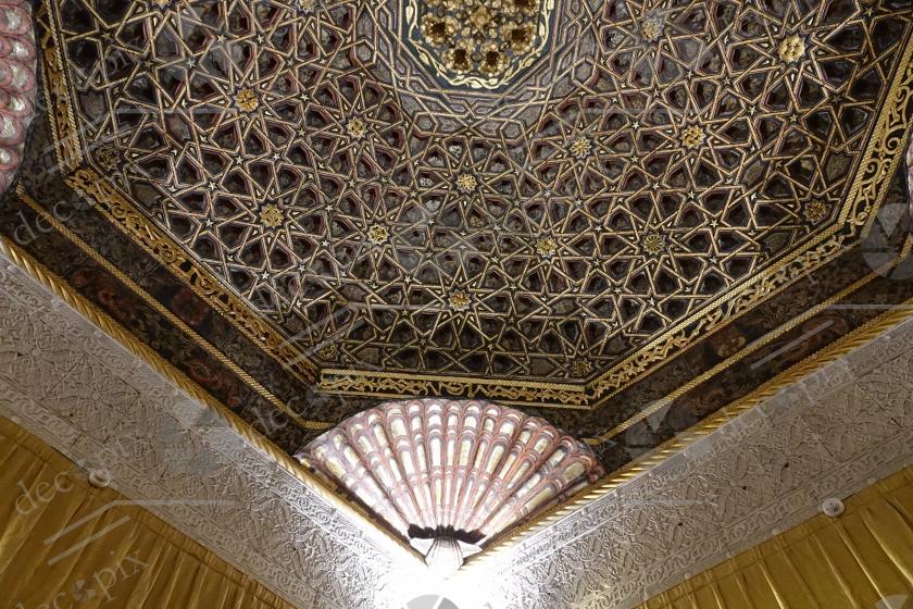 Plafond dans le style mudéjar - Château de Villandry