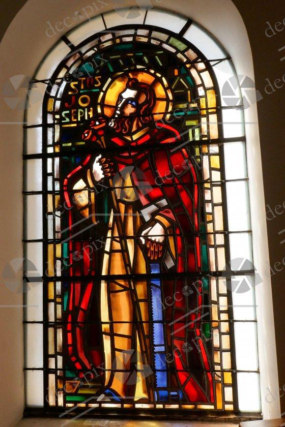 Vitrail Saint Joseph