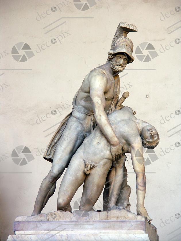 Ménélas supportant le corps de Patrocle - Palazzo vecchio - Florence