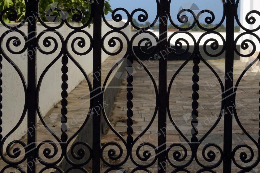 Portail en fer forgé à Estremoz - Portugal