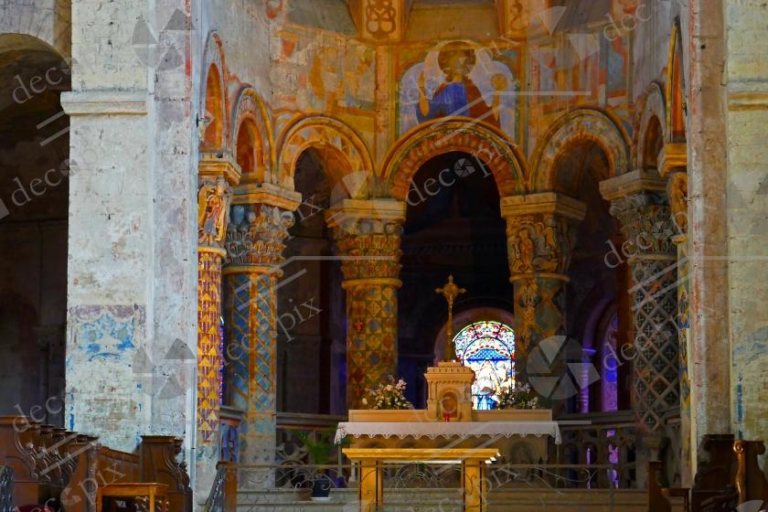 Chœur de l'église Sainte-Radegonde de Poitiers