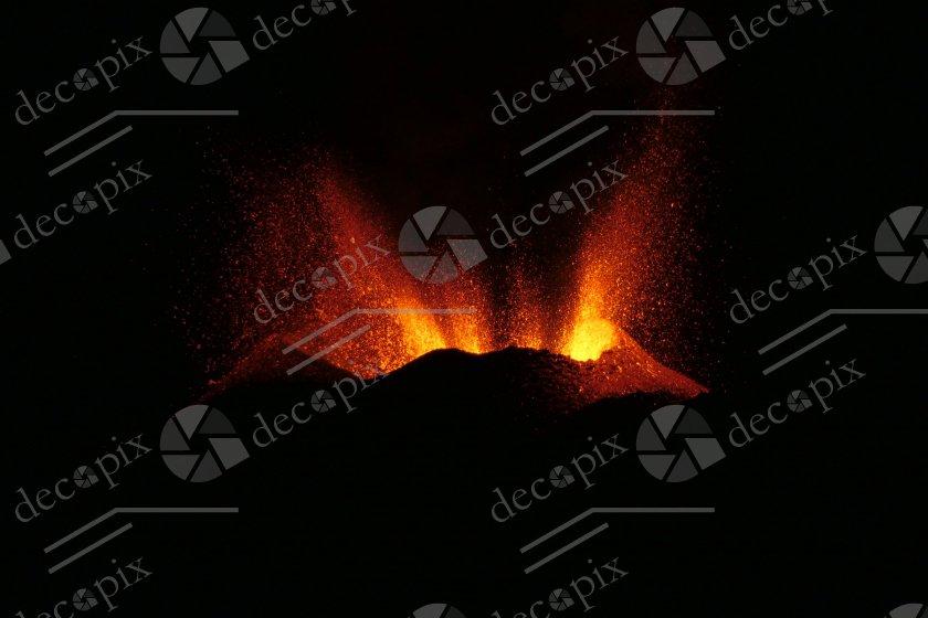 Eruption du Piton de la Fournaise - Ile de la Réunion