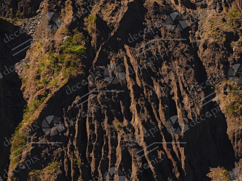 Arrière-plan - Falaise érodée