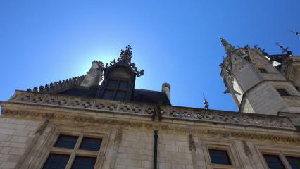 Façade du palais Jacques Cœur