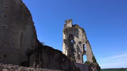 Remparts du château de Chauvigny